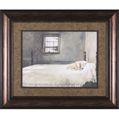 Master Bedroom By Andrew Wyeth Framed Painting Print Wayfair