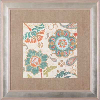 Art Effects 'Fall Paisley III' by Pela Studio Framed Painting Print