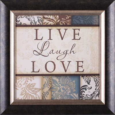 Live laugh love decor wayfair for Live laugh love wall art