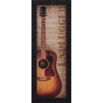 Acoustic and Legendary by John Jones Framed Graphic Art