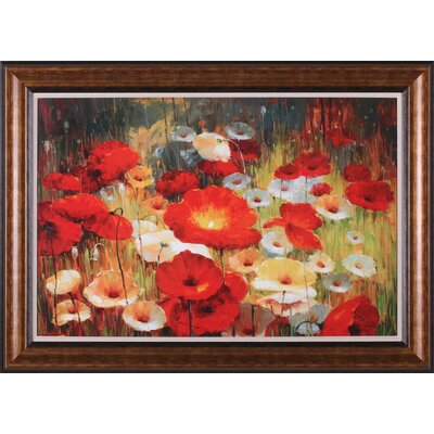 Art Effects Meadow Poppies I Wall Art