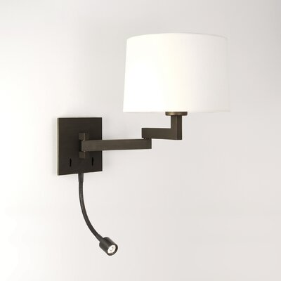 Astro Lighting Momo Swing-arm LED Wall Light in Bronze