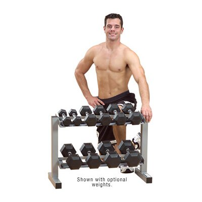 Body Solid Dumbbell rack