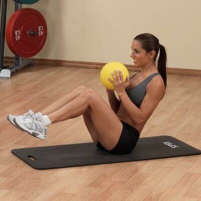 Body Solid Medicine Balls in Yellow