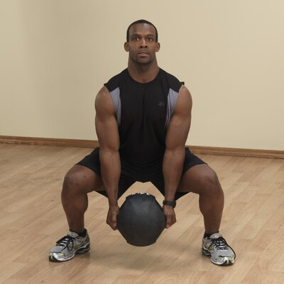 Body Solid Dual Grip Medicine Ball