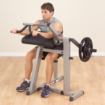 Cam Series Adjustable Curl Bench
