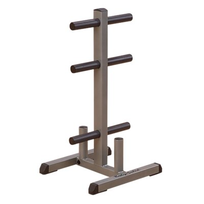 Body Solid Olympic Plate Tree & Bar Holder