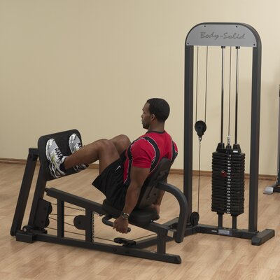 Body Solid Stand Alone Lower Body Gym with Weight Stack