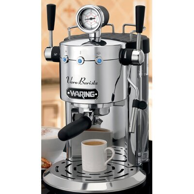 Waring Coffee Maker Reviews : Waring Vero Barista Professional Semi-Automatic Espresso Machine & Reviews Wayfair