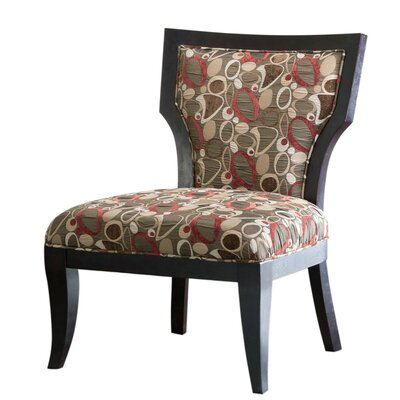 Madison Park Montego Fabric Slipper Chair