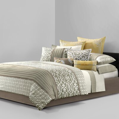 Natori Fretwork Duvet Cover Collection