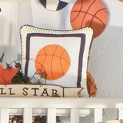All Star Basketball Decorator Pillow
