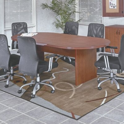 OSP Furniture Napa Racetrack Conference Table Group