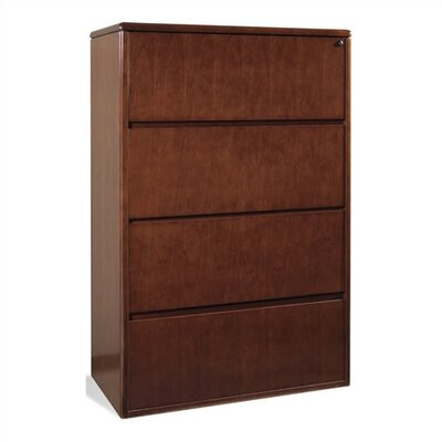 OSP Furniture Sonoma Four Drawer Lateral File