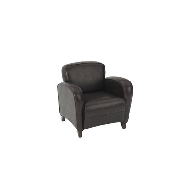 OSP Furniture Embrace - Eco Leather Club Chair