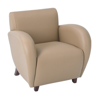 OSP Furniture Eleganza Leather Lounge Chair