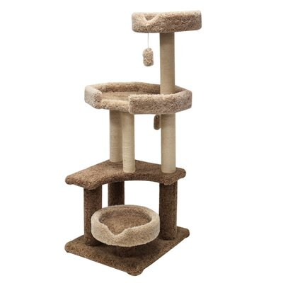 "Majestic Pet Products 55"" Kitty Jungle Gym Cat Tree"