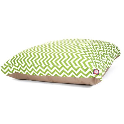 Majestic Pet Products Zig Zag Rectangle Dog Pillow