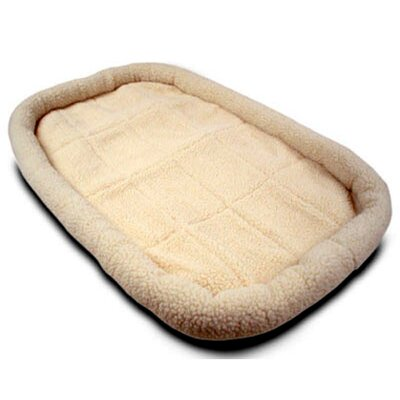 Majestic Pet Cotton Crate Donut Dog Bed