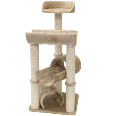 "Majestic Pet Products 44"" Casita Fur Cat Tree"