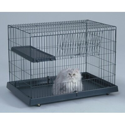 "General Cage 24"" Cat Domain Plastic Base Crate"