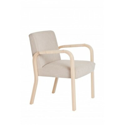 Artek 46 Arm Chair with Rattan Armrests