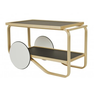 Artek Tea Trolley Table 901 in Birch