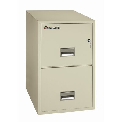Sentry Safe 1Hr Fireproof Key Lock 2 Drawer Letter File Safe