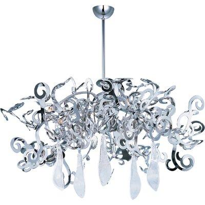 Wildon Home ® Tempest 8 Light Crystal Chandelier