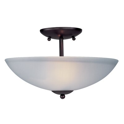 ET2 Logan 2 Light Semi Flush Mount
