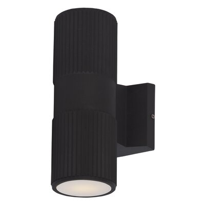 Wildon Home ® Lightray 2 Light Outdoor Wall Sconce