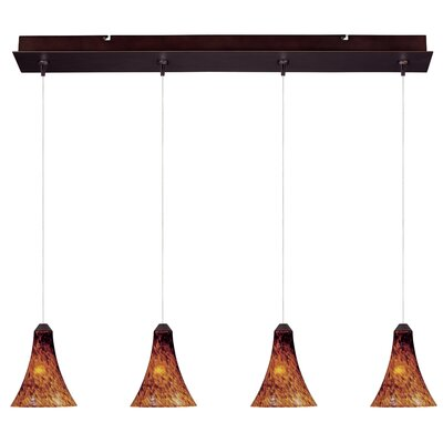 ET2 Minx 4 Light Linear Pendant
