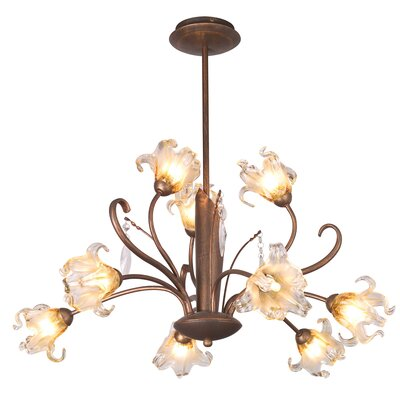 ET2 Bloom 9 Light Chandelier
