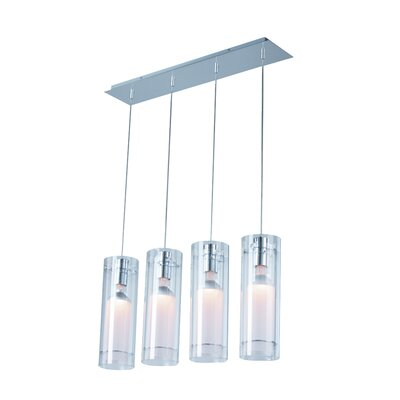 ET2 Frost 4 Light Linear Pendant