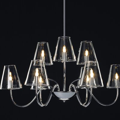 ET2 Chic 9 Light Chandelier