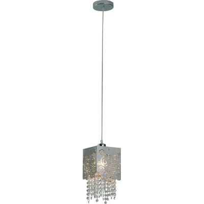Lattice 1 Light Pendant