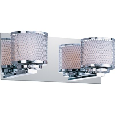 Wildon Home ® Mesh 2 Light Vanity Light