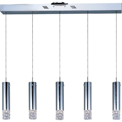 Wildon Home ® Lyriq 5 - Light Linear Pendant