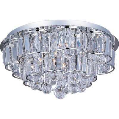 ET2 Bangle 12 Light Flush Mount