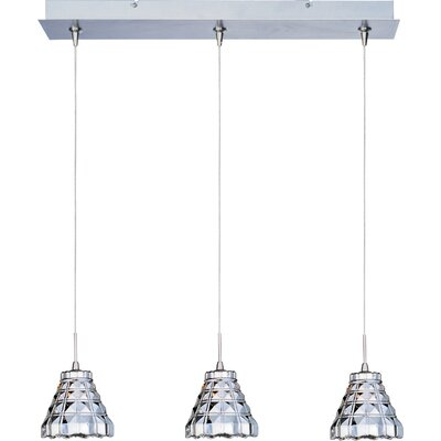 Minx 3 Light RapidJack Linear Pendant