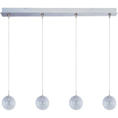 Wildon Home ® Minx 4 Light RapidJack Linear Pendant