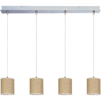 ET2 Elements 4 Light RapidJack Linear Pendant