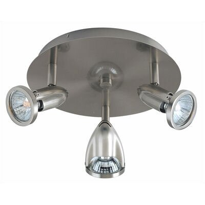 ET2 Agron Directional 3 Light Semi Flush Mount