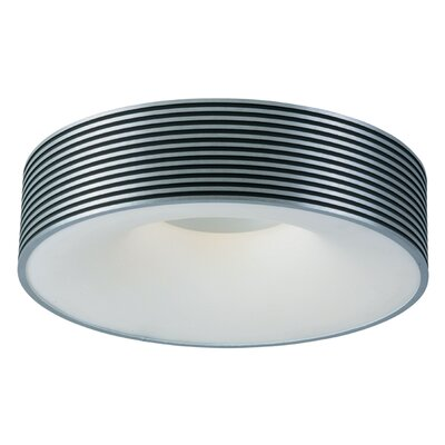ET2 Alumina 1 Light Fluorescent Flush Mount
