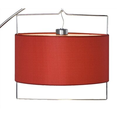 ET2 Passion Arc Lamp in Chrome/Satin Nickel