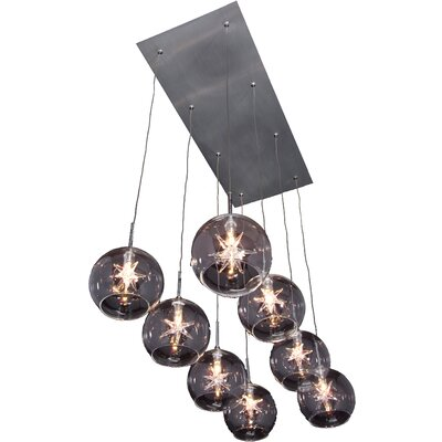 Wildon Home ® Stellar 8 - Light Linear Pendant