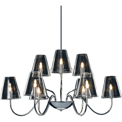 Chic 9-Light Chandelier