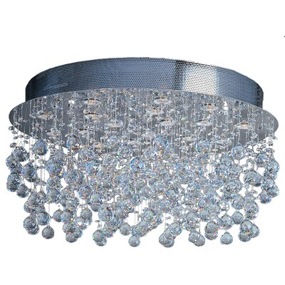 ET2 Cascada 18-Light Flush Mount