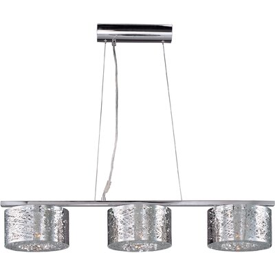 Inca 3 Light Linear Pendant