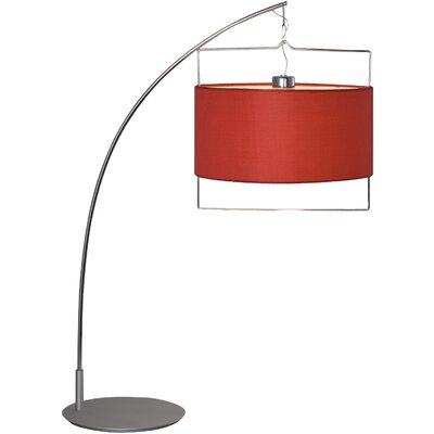 "Wildon Home ® Alsace 31.5"" H Table Lamp with Drum Shade"